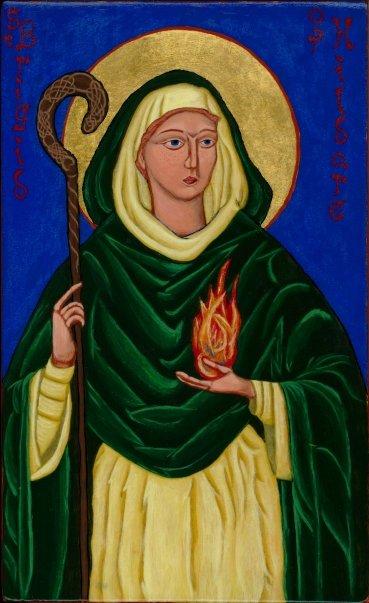 Bishop Brigid of Kildare, c 451 - 525
