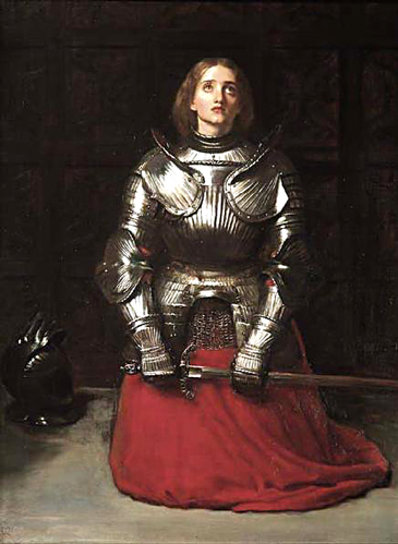 Joan of Arc at Prayer Sir John Everett Millais