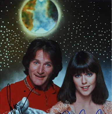 Mork, from stardust he came, to stardust he returns.
