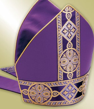 bishop's purple mitre