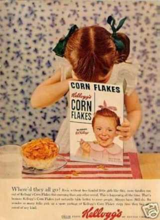 Seeking the truth, in a box of cereal, 1955.