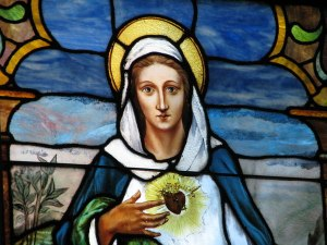 The Broken Heart of a Blessed Mother.