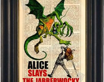 alice slaying jabberwocky