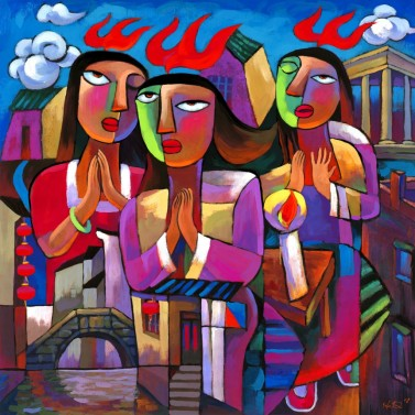 pentecost latin modern art
