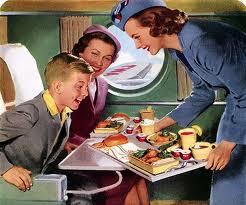 The golden era of air travel.
