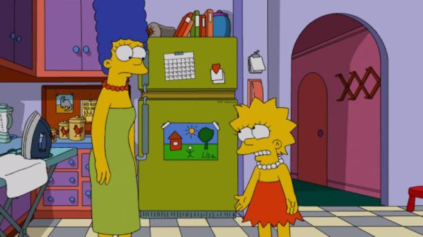 Clean out the Fridge Simpsons