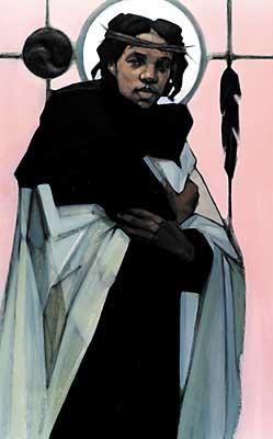 Jesus of the People by Janet McKenzie