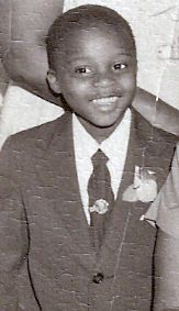 Martin Luther King Jr as a boy